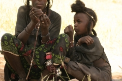 Fulani mother and child
