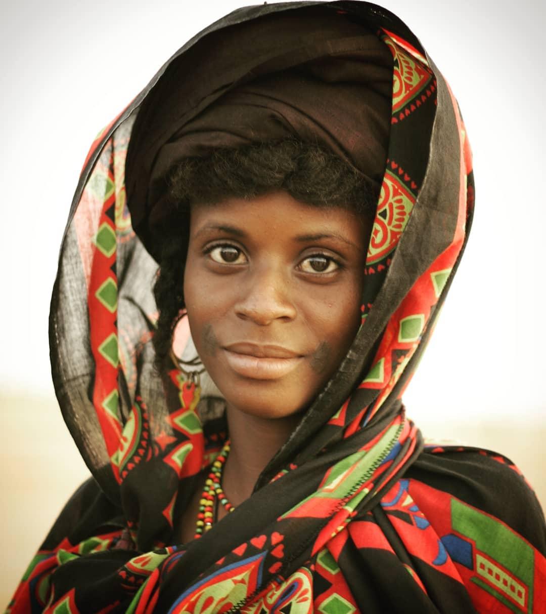 Beautiful Wodaabe woman